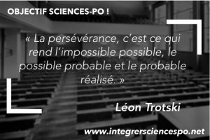 Motivation pour Sciences Po